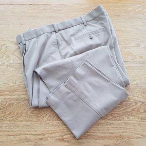 SAVANE Mens Casual Chino Khaki Beige Pants 42 x 30